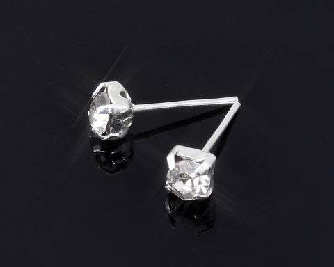 Diamond Sparkling Ear Stud Earrings for Women Lady Party Gift