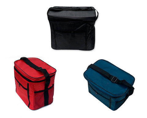 Foldable Insulated Thermal Picnic Lunch Bag with Shoulder Strap