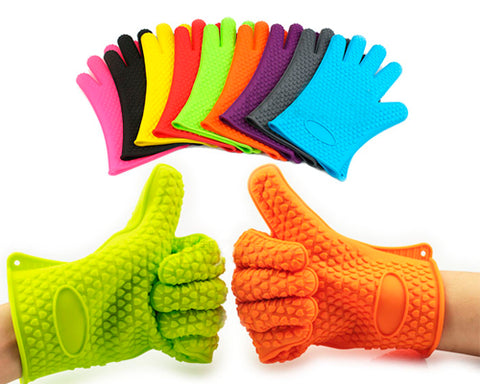 Heat Resistant Silicone Glove for Cooking Baking