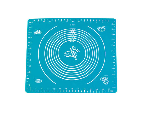26x29cm Silicone Oven Non-slip Table Hot Pad - Blue