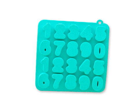 Silicone Number Shaped Ice Cube Tray
