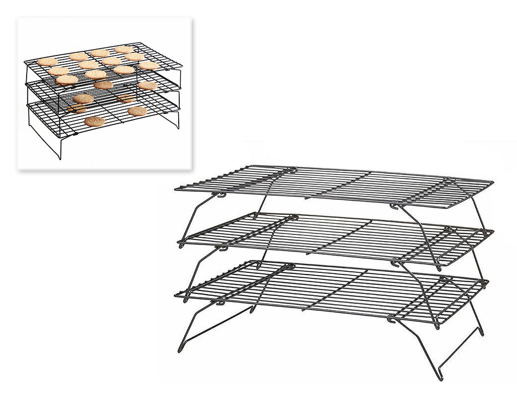 3 Tiers Stainless Steel Baking Cooling Rack