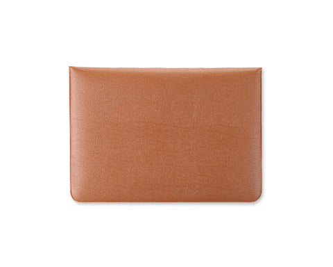 Envelope Series Soft Leather Case - Brown