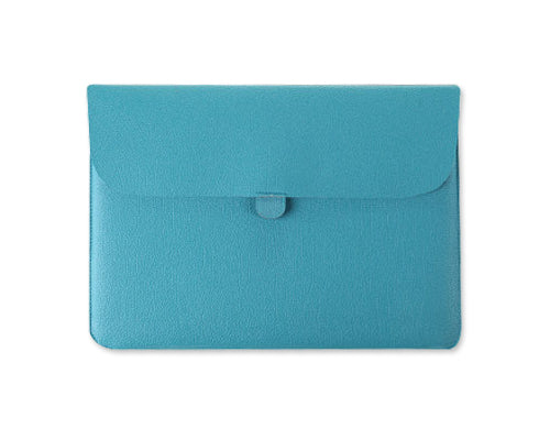 Envelope Series Soft Leather Case - Blue