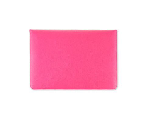Envelope Series Soft Leather Case - Magenta