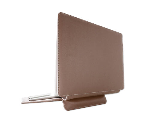 "Folio Series 13"" MacBook Pro Leather Case - Brown"