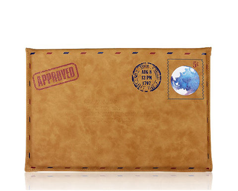Envelope Series Crusty Leather Case - Brown