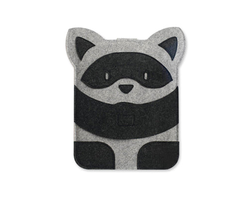 Wool Series MacBook Case - Raccoon