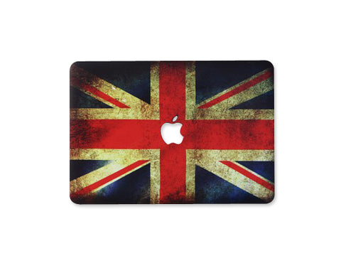 Matt Series MacBook Hard Case - England