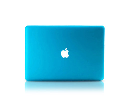 "Matt Series 12"" MacBook Hollow-out Logo Hard Case - Ice Blue"