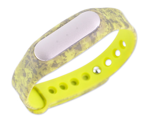 Replacement Band for Xiaomi Mi Band Smart Bracelet-Digital Camo Green