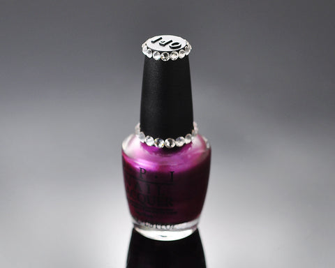 Vibrant Bling Crystal O.P.I. Nail Polish - Suzi And The 7 Dusseldorfs