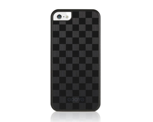 Odoyo MetalSmith Series iPhone 5 and 5S Case - Grand Checker