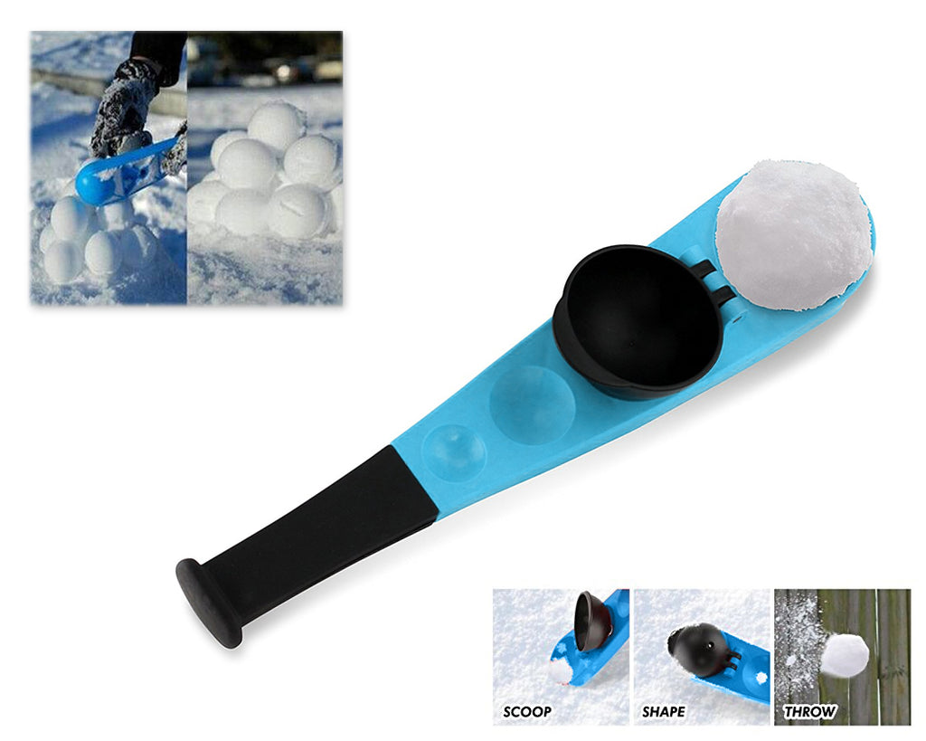 Snowball Maker and Launcher Set for Kid Snowball Fight - Blue