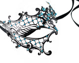 Masquerade Mask Crystal Half Eye Mask