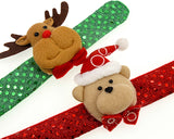 4 Pcs Christmas Light Hand Ring Wristband Bracelet