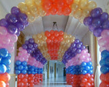 100 Pcs Latex Balloons for Christmas Party Decoration