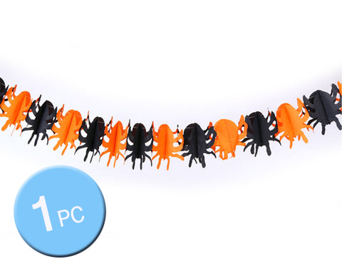 Halloween Theme Party Props Decoration Pennant Banner - Spider