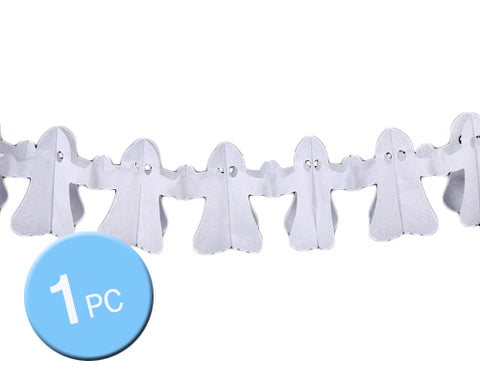 Halloween Theme Party Props Decoration Pennant Banner - Ghost