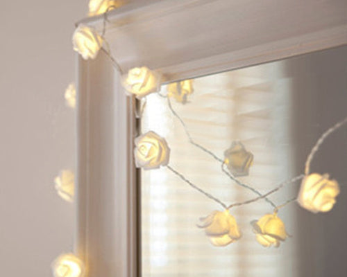 2.2m Long LED Rose String Lights