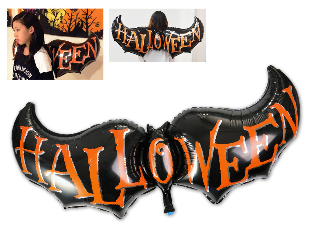 Halloween Party Decoration Bat Helium Foil Balloon