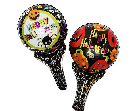 Halloween Party Decoration Balloon with Handle for Kids