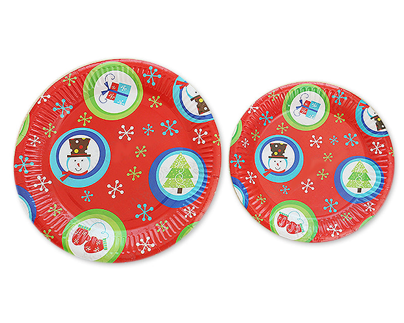10 Pcs Disposable Tableware Paper Plates