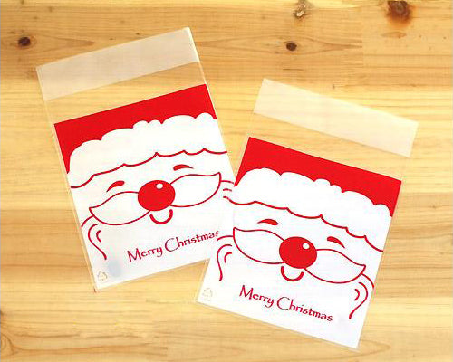 50 Pcs Holiday Christmas Cookie Candy Gift Treat Bag