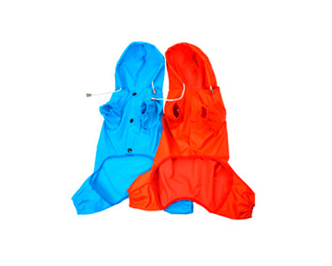 Waterproof Series Dog Raincoat with Hood
