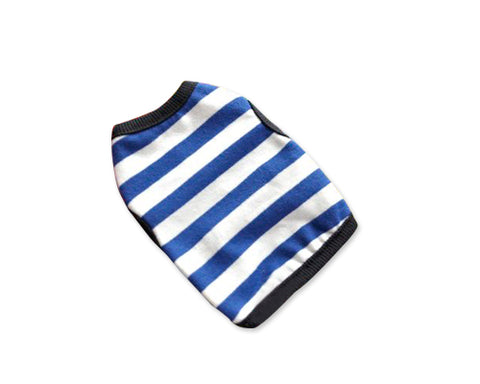 Stripe Series Mini Pet Clothes Dog Shirt