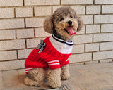 Christmas Pet Clothes Dog Turtleneck Sweater