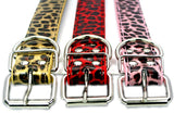 Leopard Series Handmade Pet Dog Collar