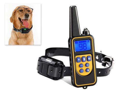 Waterproof Anti Bark Dog Collar with Rechargeable Remote and Receiver