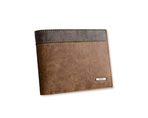 Retro Mens Leather Bifold Wallet