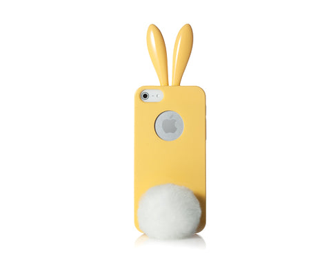 Rabito Bling Bling Series iPhone 5 and 5S Silicone Case - Yellow