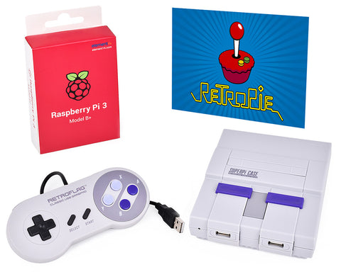 Retroflag SUPERPi Case-U with Wired Controller for Raspberry Pi Case Set