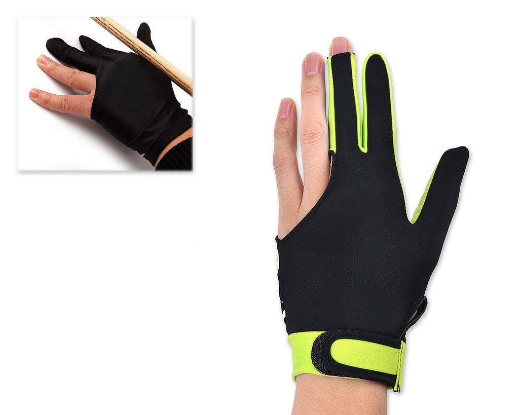 3 Fingers Billiard Glove 1 Piece for Left or Right Hand