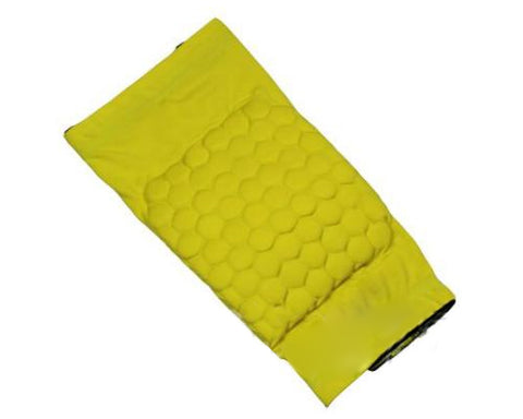 Honeycomb Knee Pad Short Sleeve Protector - Yellow
