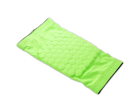 Honeycomb Knee Pad Short Sleeve Protector - Green