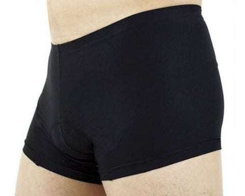3D Sponge Cycling Underwear Shorts Pants - Black