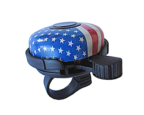 America National Flag Print Alloy Bike Bell