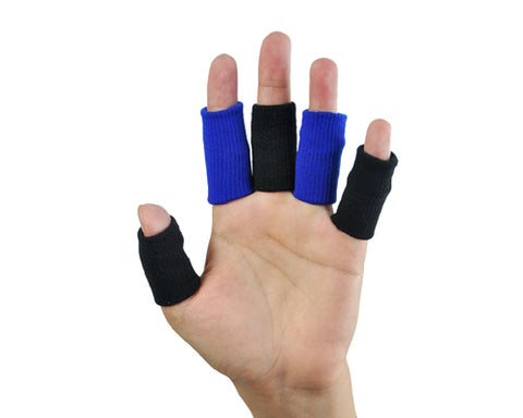 10 Pcs Professional Basketball Finger Sleeve Support Protector