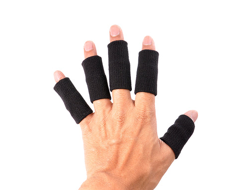 5 Pcs Professional Basketball Finger Sleeve Support Protector