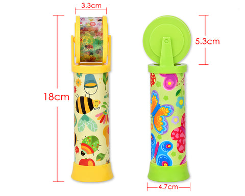 Novelty Kaleidoscope Toy with Roller for Kids