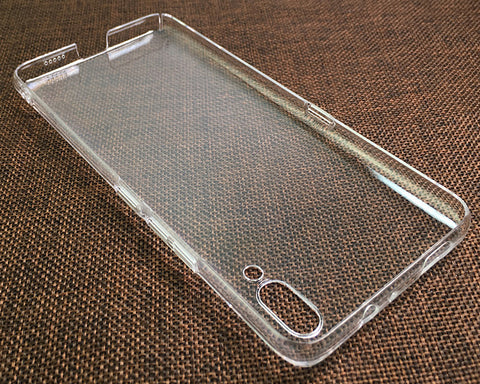 Vivo NEX S Clear Case TPU Bumper with Acrylic Back