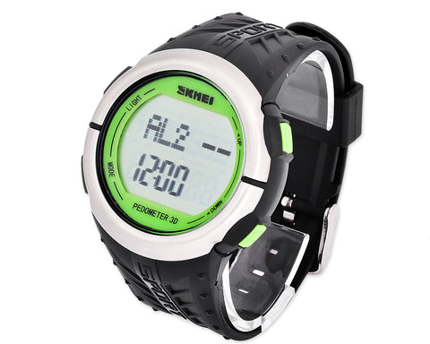SKMEI Waterproof Heart Rate Monitor Pedometer Sports Watch