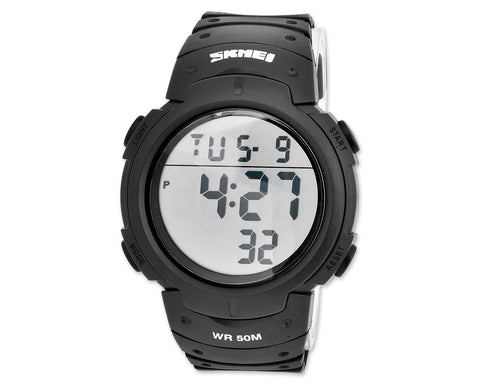 SKMEI Military Waterproof Large Display Men Sport Watch 1068