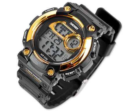 SKMEI Waterproof Day Date Digital Men Running Sports Watch