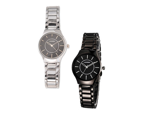 Sinobi Elegant Stainless Steel Women Wrist Watch