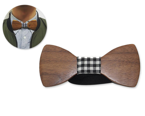 Creative Classic Wooden Bow Tie for Men